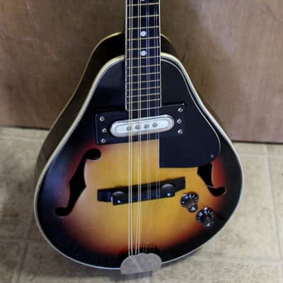 Como HMDGE acoustic/electric mandolin-A style 1980's sunburst for sale