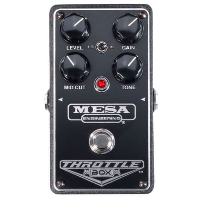 MESA/Boogie Throttle Box Distortion Electric Guitar Effects Pedal for sale
