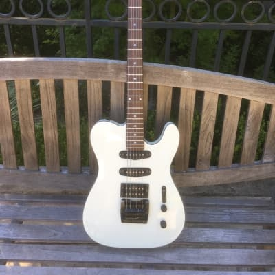 Vintage 1980's JB Player Tele Style Hot Rodded Electric Guitar Telecaster with Tremolo for sale