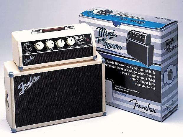 genuine fender mini tonemaster amplifier 023 4808 000 reverb. Black Bedroom Furniture Sets. Home Design Ideas