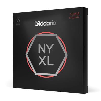 D'Addario NYXL 1052 string set 3 Pack