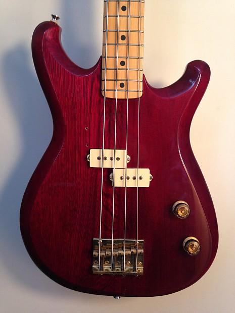 ibanez roadster bass rs721 1982 transparent red reverb. Black Bedroom Furniture Sets. Home Design Ideas