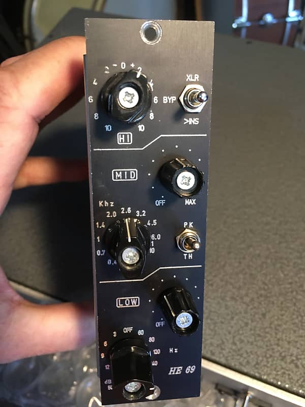 I J  Research HE-69 500 series Inductor EQ - Helios Type 69 Clone