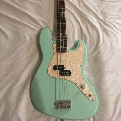 2002 Fender Mark Hoppus Bass Surf Green for sale