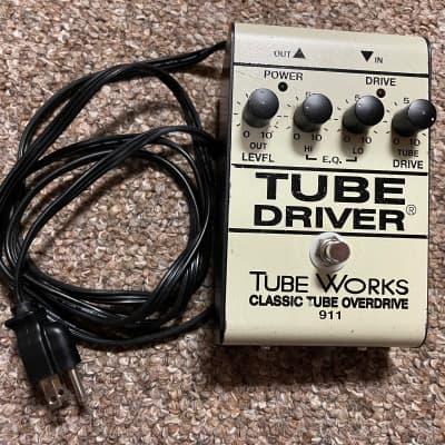 Tube Works Tube Driver Classic Tube Overdrive 911 BK Butler Genz Benz