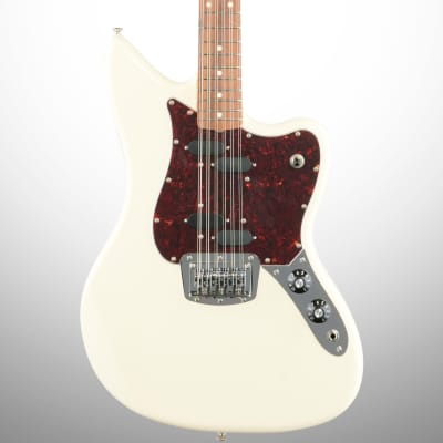 Fender Alternate Reality Electric XII Electric Guitar, 12-String (with Gig Bag), Olympic White for sale