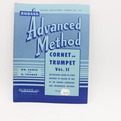 Hal Leonard Rubank Advanced Method for Cornet / Trumpet Vol II Music Book No.158