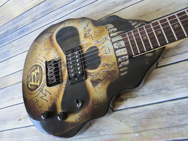 Alchemy Limited Edition Skull Guitar | Rock Shop Canada | Reverb