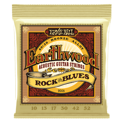 Ernie Ball Earthwood Rock & Blues 80/20 Bronze Acoustic Guitar Strings