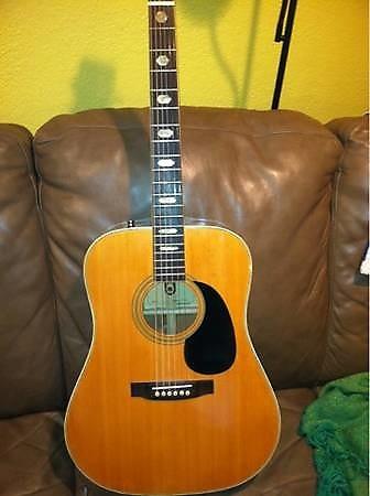 univox acoustic guitar