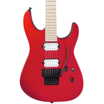 Jackson Pro Series Soloist SL2M Electric Guitar, with Maple Fingerboard, Metallic Red