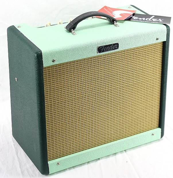 Fender Limited Edition Blues Junior III Guitar Amplifier Two Tone Green  Eagle 2013 Two Tone