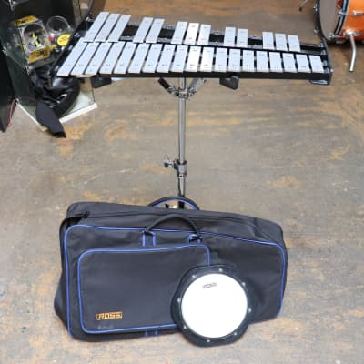 Ross Bell Set w/Stand, Bag, and Practice Pad