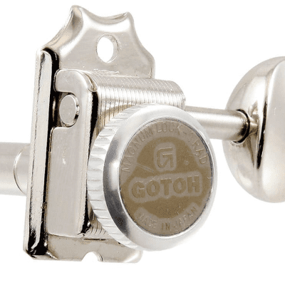Gotoh Nickel SD91-MGT 6-in-line Vintage Style Locking Tuners TK-0769-001