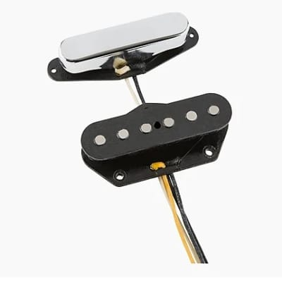 Fender 099-2274-000 Custom Shop Josefina Handwound '50 / '51 Blackguard Telecaster Pickup Set