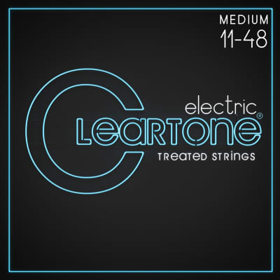 Cleartone Strings 9411 Nickel Plated Electric - Gauges: (11-14-18-28-38-48)