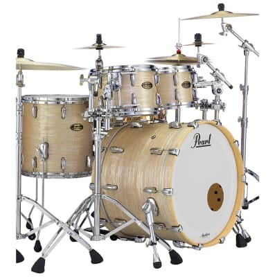 """Pearl Reference Pure 14x5"""" Snare Drum in Platinum Gold Oyster Finish"""