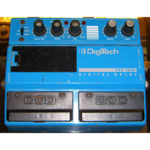 DIGI-TECH PDS-1000 DOUBLE PEDAL DELAY for sale