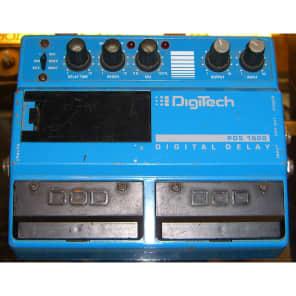 DIGI-TECH PDS-1000 DOUBLE PEDAL DELAY for sale