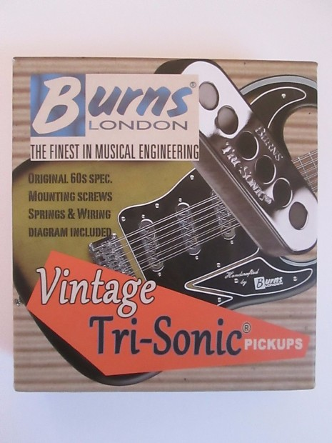 Fantastic Burns London Brian May Original 60S Spec Vintage Tri Sonic Reverb Wiring Digital Resources Pelapshebarightsorg