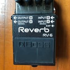 Boss RV-6 Reverb 2017 Black