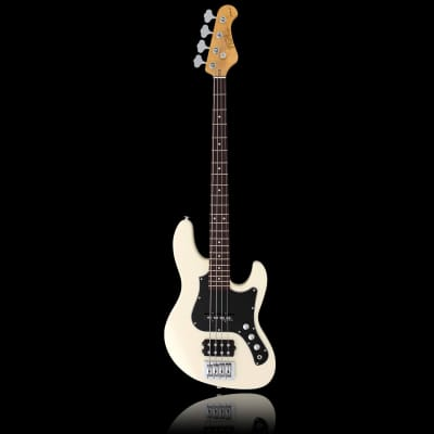 FGN J-Standard Mighty Jazz Bass Antique White incl. Gigbag + NEW with invoice for sale