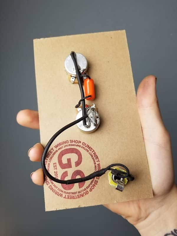 Gunstreet Wiring Shop - Les Paul Junior - 50s Wiring - Metric - Wiring on