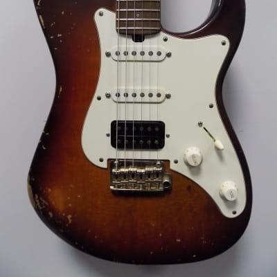 Friedman Vintage - S (Dave Freedman & GroverJackson) Stratocaster Electric Guitar w/ Hardcase - Burs for sale