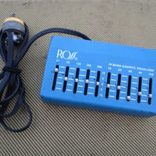 Ross 10 Band Graphic Equalizer 1979 Blue