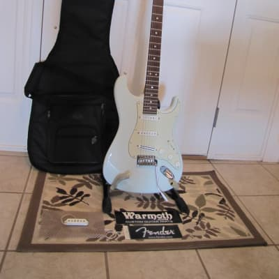 Fender American Special Stratocaster Sonic Blue with Warmoth Conversion Neck for sale