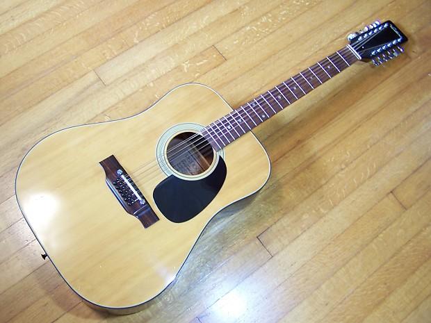 Ventura V 17 Made In Japan 12 String Acoustic Guitar Reverb
