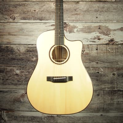 2020 Bedell Limited Edition Dreadnought Cutaway Natural for sale