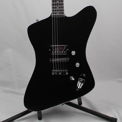 Luthier Handmade Electric Guitar-Fire Bird Style-Black for sale