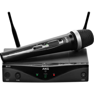 AKG WMS420 UHF  Vocal Set Wireless System (Band A: 530.025 to 559.00 MHz)