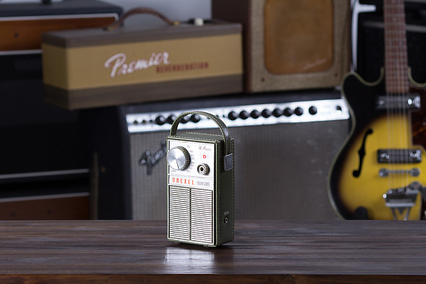 drexel 9v battery powered transistor radio converted into reverb. Black Bedroom Furniture Sets. Home Design Ideas