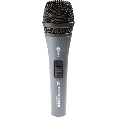 Sennheiser e835 S Dynamic Handheld Cardioid Microphone with On / Off Switch