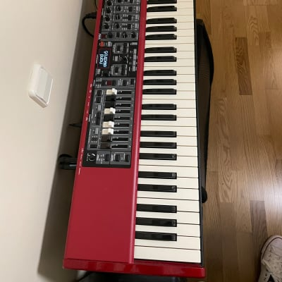 Clavia Nord Electro 5D 73 2015 Candy apple red