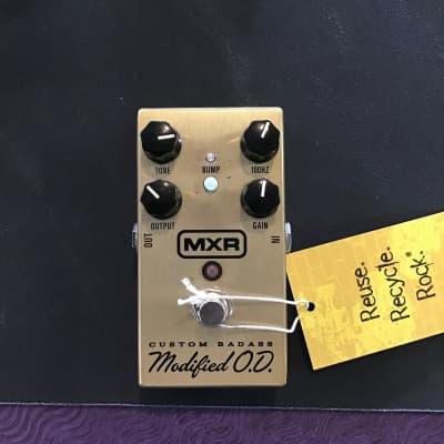 Used MXR CUSTOM BADASS MODIFIED OD Guitar Effects Distortion/Overdrive