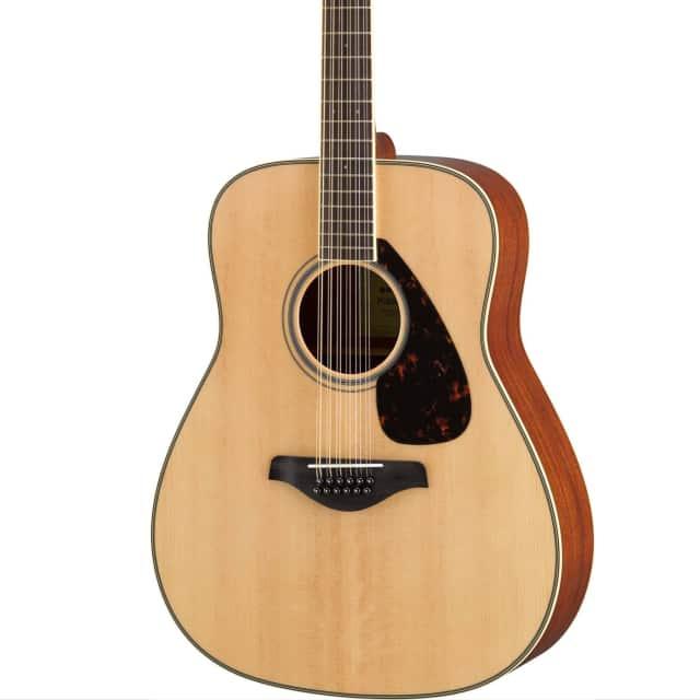 Yamaha FG820-12 Dreadnought 12-String Acoustic Guitar Natural image