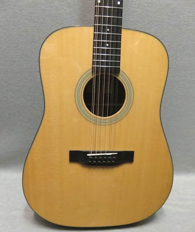 Eastman E6D-12 Twelve String Acoustic Guitar With Hardshell Case image