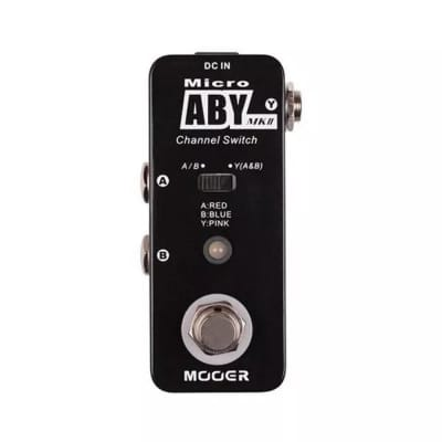 Mooer Micro ABY MKII Channel Switch