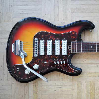 Teisco (Kawai/Sakai) EG-4T guitar ~1971 made in Japan for sale