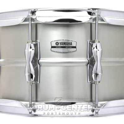 "Yamaha RLS-1470 Recording Custom 7x14"" Stainless Steel Snare Drum"