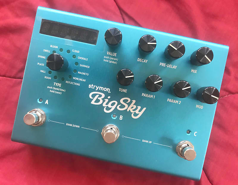 strymon big sky reverb open box around town productions reverb. Black Bedroom Furniture Sets. Home Design Ideas