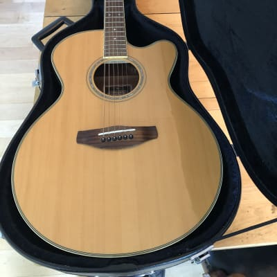 Yamaha CPX700 NT Acoustic-Electric Guitar,  Natural