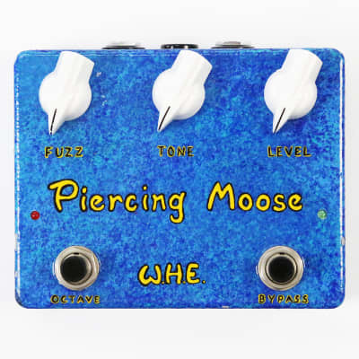 Way Huge Piercing Moose Octifuzz Hand Painted