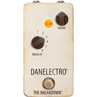 Danelectro The Breakdown overdrive effects pedal for sale