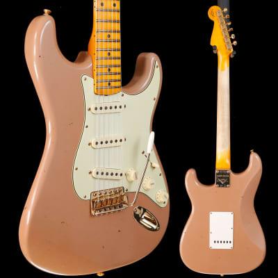 Fender Custom Shop 1962 Stratocaster, Dirty Shell Pink 609 7lbs 9.8oz