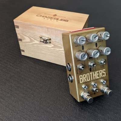 Chase Bliss Audio Brothers Analog Gain Stage  - With Wooden Box!