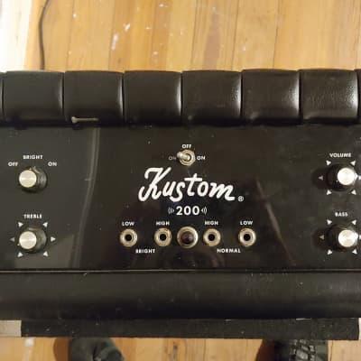 Kustom K-200B Plexi Bass Amp Head